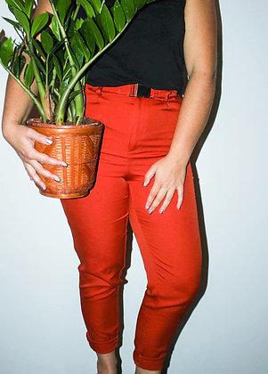 Oranžne dolge hlače