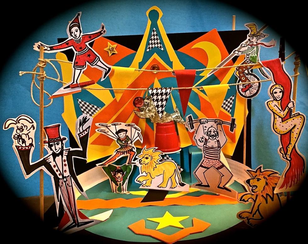 Cirque en papier