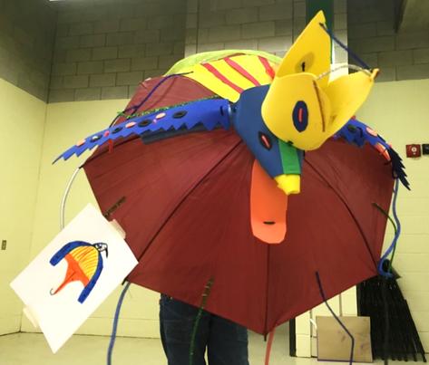 Oiseau d'élève-projet PEYO/MBAM
