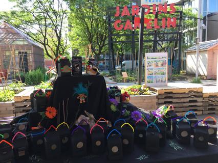 L'arbri urbain/Atelier Petits bonheur-jardins Gamelin