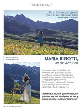 Maria Rigotti l'Art de vivre l'Art
