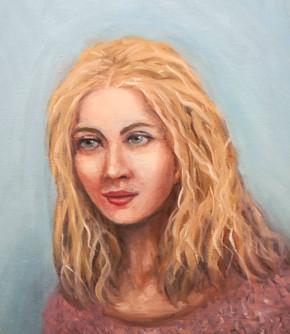 La blondine
