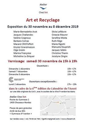Art et Recyclage verso