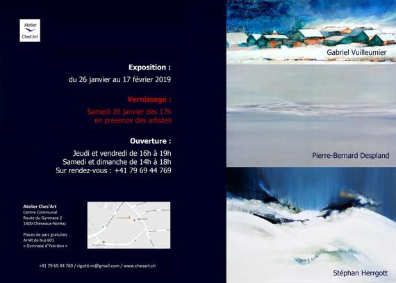 Exposition Entre Air et sur Terre