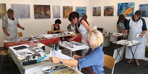 Atelier Ches'Art Stage Aquarelle avec Da