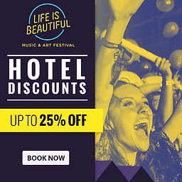 Life is beautiful Las Vegas save up to 25% on Hotels.