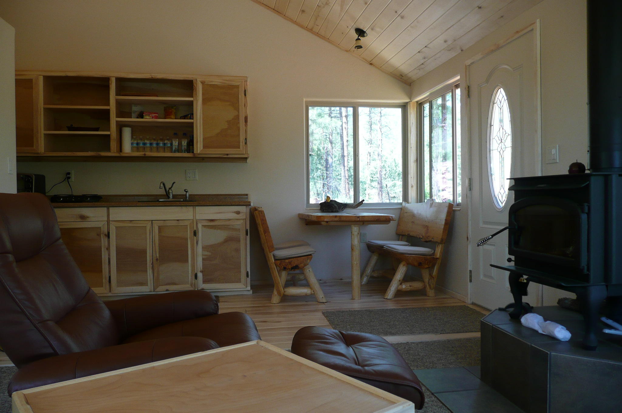 Healing Heart sanctuary cabin