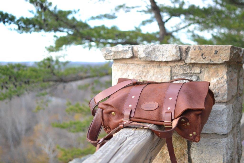 Moose Hide Parachute Bag