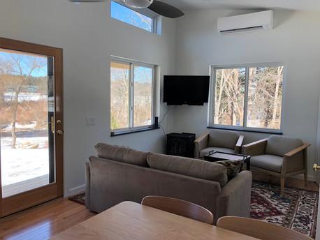 Livingroom with water views