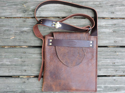 Bison Leather Satchel