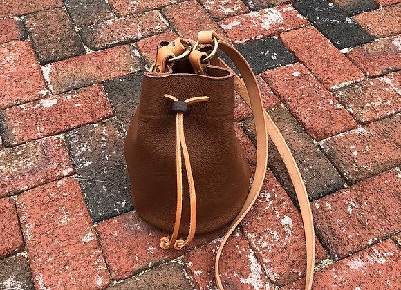 Bucket Bag, Leather Crossbody Bag