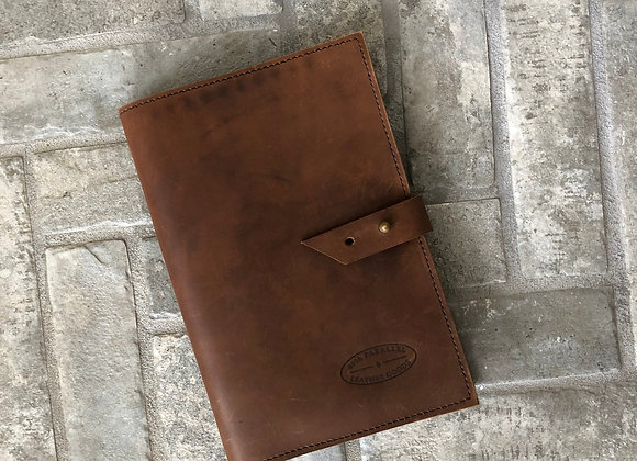 Field Notes Cover and Watercolor Sketch Pad, Leather Field Note Holder
