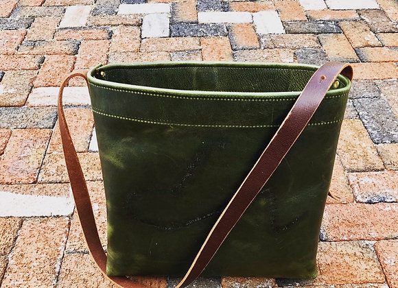 Leather Work Tote