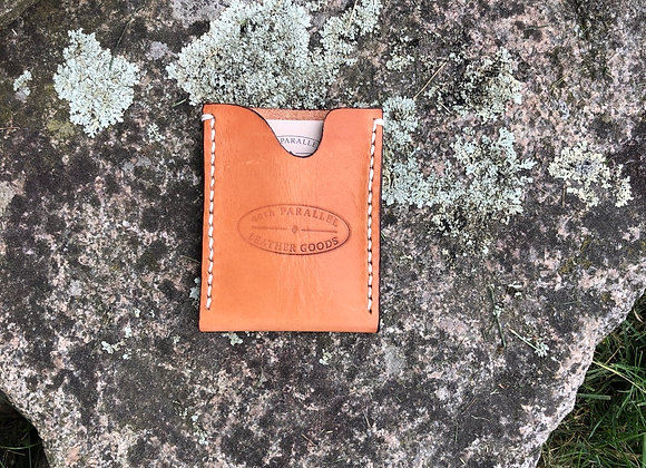 Slim Line Wallet, Leather Card Sleeve, Leather Wallet