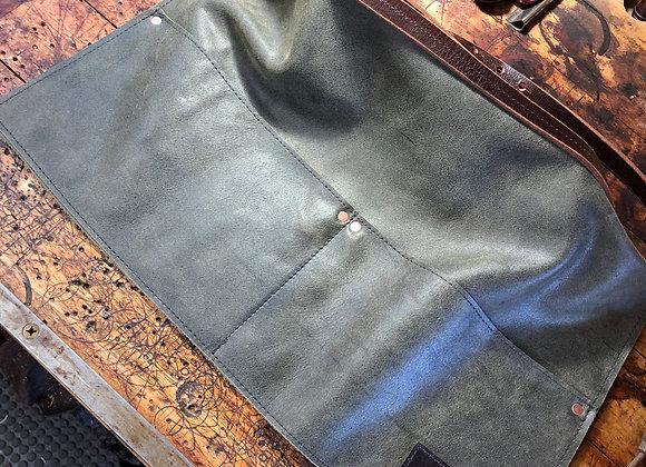 Work Apron, Half Apron, Shop Apron, Leather