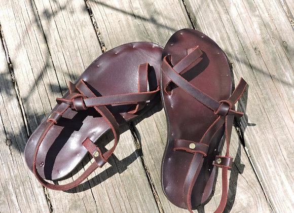 Rambler Adjustable Strap Leather Sandal