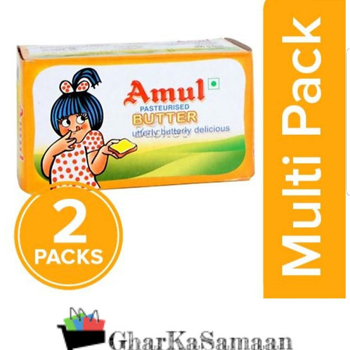 Amul Buttee-Pasteurized (pack of 2×100 gram)