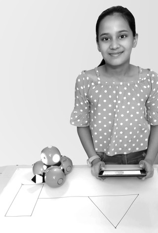 We teach not only Robotics but in what we teach children, understand basic concepts of math, such as angles…
