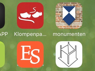 Zet BSU app in beginscherm