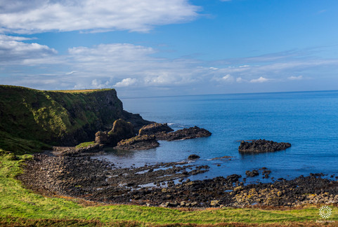 Rocky Irish coast