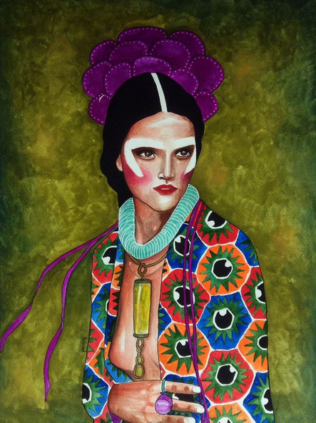 January's Feminine Art...by Hülya Özdemir!