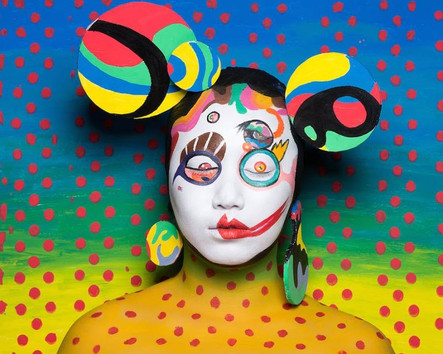 10 faces inspired by Takashi Murakami