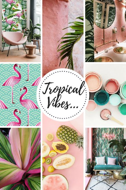 Tropical inspiration...