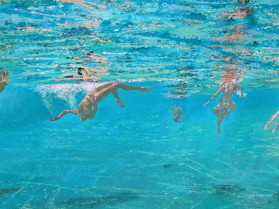 Maria Filopoulou, Underwater Swimmers