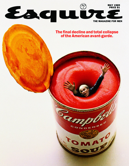 Andy Warhol on Esquire, May 1969