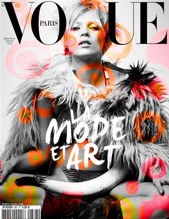 Vogue Paris cover, Kate Moss