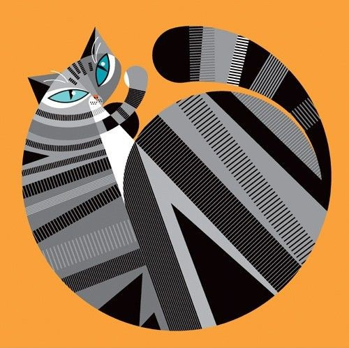 Cat illustration by Pablo Lobato