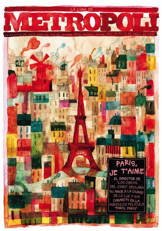 Metropoli cover, April 2009