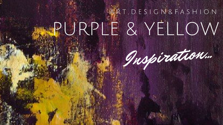 This March is purple and yellow!