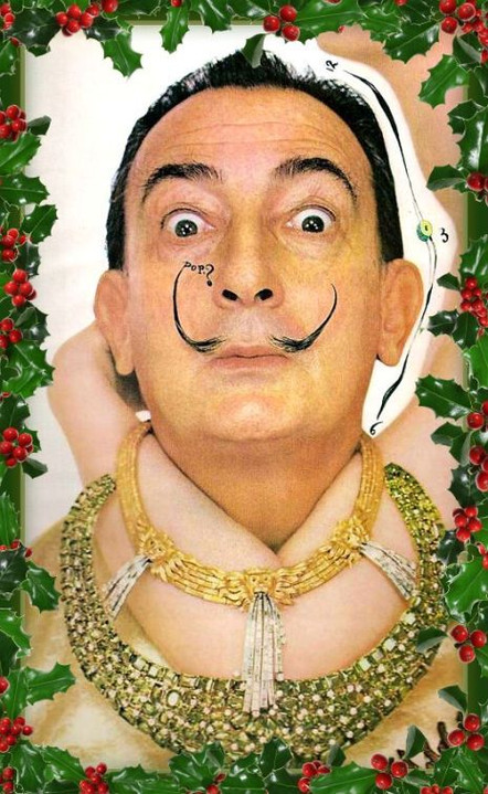 Salvador Dali's alternative Christmas!