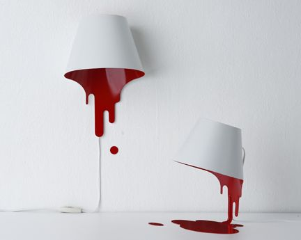The Wet Paint Lamp by Kouitchi Okamoto