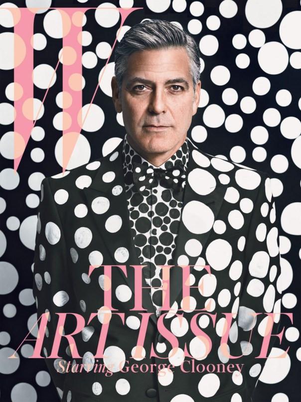 W magazine cover, Jan.2013.14, George Clooney