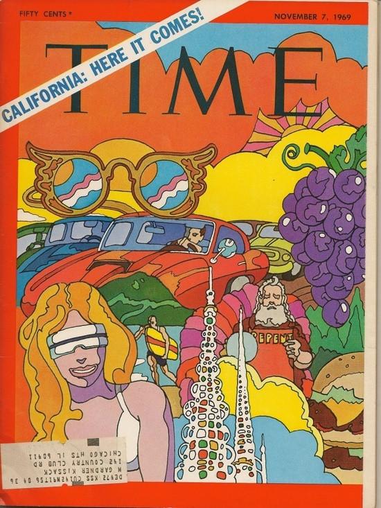 Time magazine cover, Nov. 1969