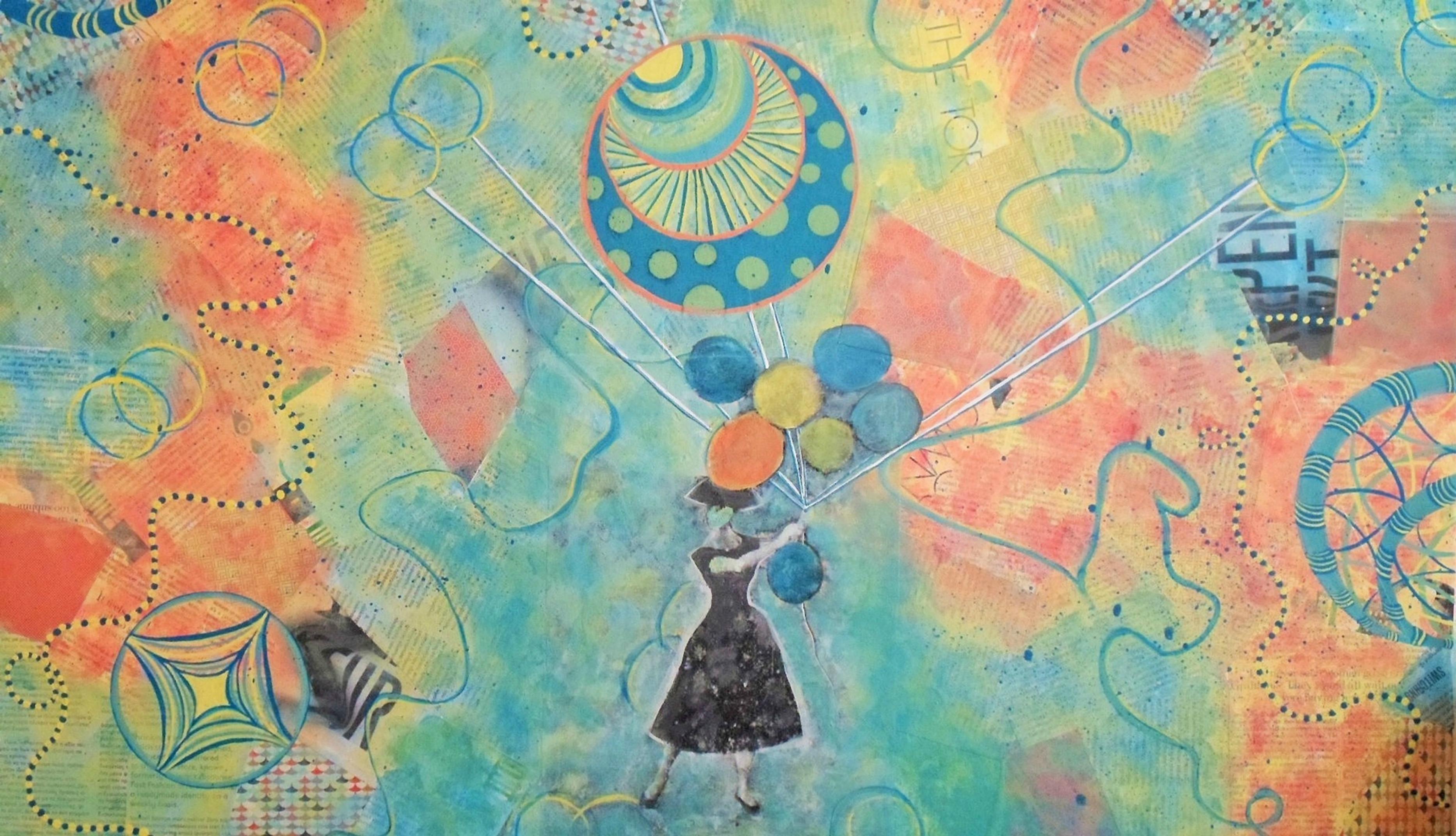 """""""Ballon Therapy"""" artwork"""