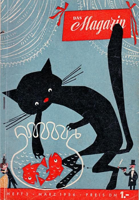 Black Cat, Das Magazin, March 1956