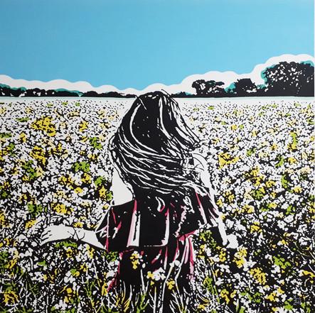 "Marcelo Zeballos' ""Momentos Memorables"" exhibition in Mamush Gallery."
