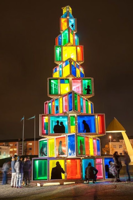 Rakvere, Estônia Christmas art installation