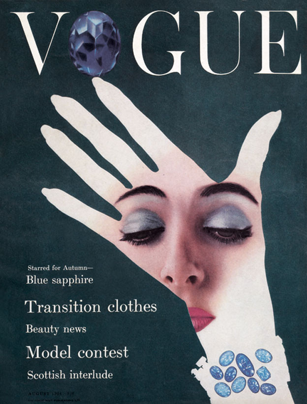 Vogue cover, August 1954