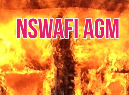 Advance Notice of NSWAFI Annual General Meeting
