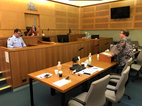 Expressions of Interest for Expert Witness Courtroom Testimony class