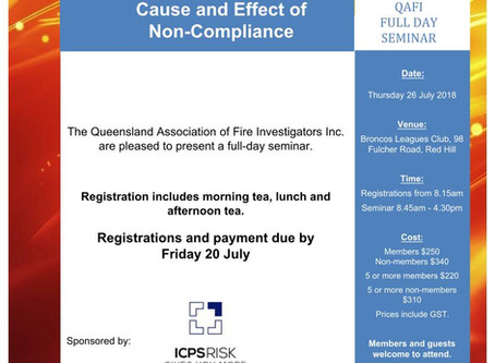QAFI Seminar: Cause and Effect of Non-Compliance