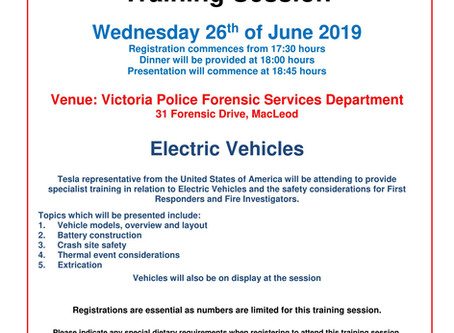 VAFI Training Session: Electric Vehicles