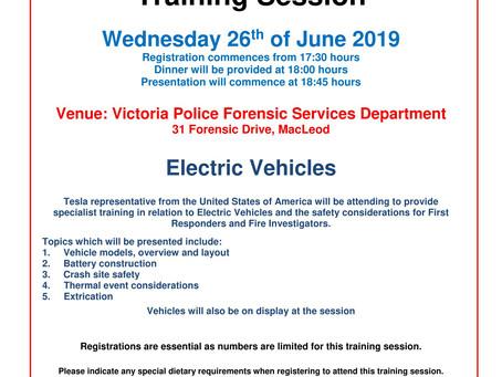 VAFI Training Session: Electric Vehicles