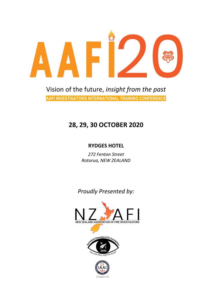 AAFI 2020 Program