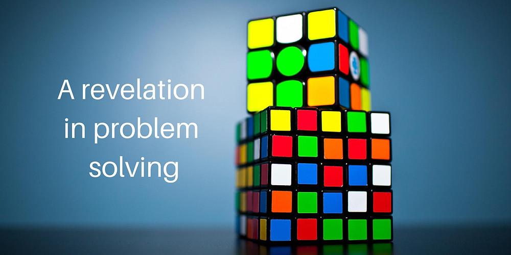 A revelation in problem solving