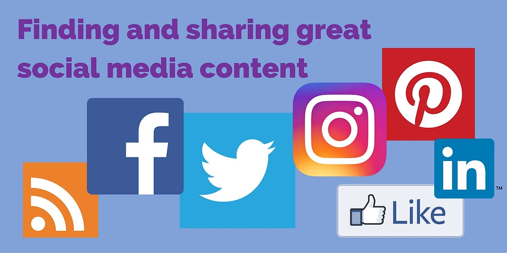 Finding and sharing great social media content